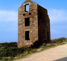 Old Tin Mine Cornwall by gazmercer