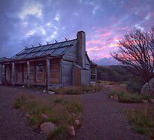 Craigs Hut Sunset by ImagesbyDi