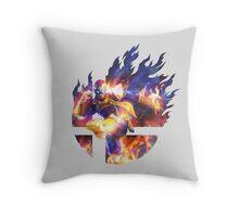 Smash Hype - Captain Falcon Throw Pillow