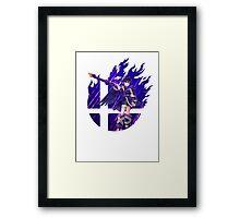 Smash Hype - Dark Pit Framed Print