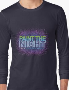 Paint the Night Parade - The New Electrical Parade Long Sleeve T-Shirt