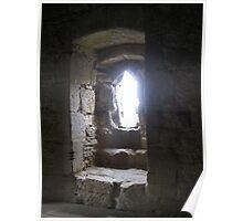 Window Light, Bodiam Castle Poster