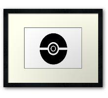 Pokemon Pokeball 2 Framed Print