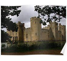 Bodiam Castle, Sussex, England Poster