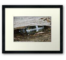 Drunk stump  Framed Print