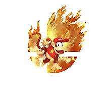Smash Hype - Diddy Kong Photographic Print