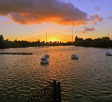 Kent: Sunset at Danson Park by Rob Parsons