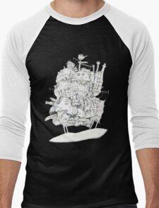 Howl's Moving Castle Men's Baseball ¾ T-Shirt