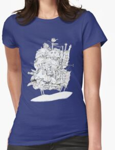 Howl's Moving Castle Womens Fitted T-Shirt