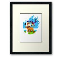 Smash Hype - Duck Hunt Dog Framed Print