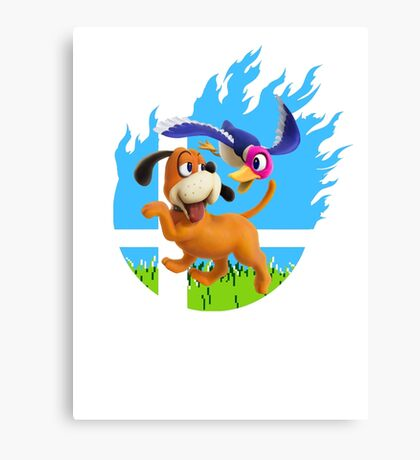 Smash Hype - Duck Hunt Dog Canvas Print