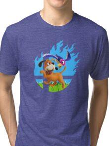 Smash Hype - Duck Hunt Dog Tri-blend T-Shirt