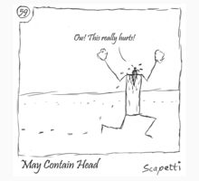 May Contain Head by Scapetti