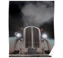 Dag Nab It-Overheated Old truck Poster