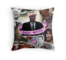 The God that is Tim Curry Throw Pillow