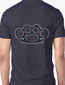 Brass knuckle/Knuckle Duster skull radioactivity T-Shirt