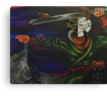 Supreme Ninja Master, Tsuchigumo: Eight Diagram Sword Technique  Canvas Print