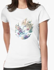 Smash Hype - Fox Womens Fitted T-Shirt