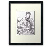 Donald Fagen Framed Print