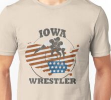 IOWA WRESTLER Unisex T-Shirt