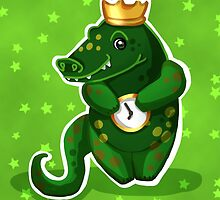alligator for kids by coralflowers