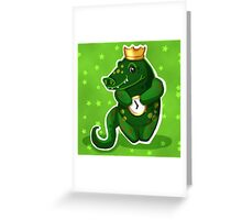 alligator for kids Greeting Card