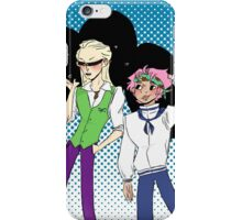 Coby and Helmeppo the smol marines iPhone Case/Skin