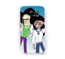 Coby and Helmeppo the smol marines Samsung Galaxy Case/Skin