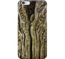 Old Mooring post at Boscastle iPhone Case/Skin
