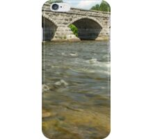 The flowing waters and the bridge iPhone Case/Skin