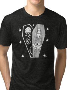 Death T-Shirt by Allie Hartley  Tri-blend T-Shirt