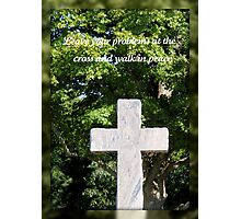 Walk In Peace Photographic Print