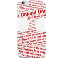 eerie indiana iPhone Case/Skin