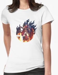 Smash Hype - Ike Womens Fitted T-Shirt