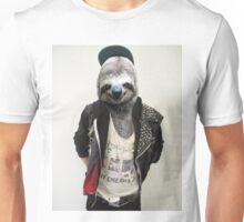 Punk Sloth! Unisex T-Shirt