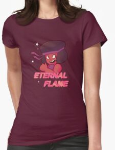Eternal Flame Womens Fitted T-Shirt