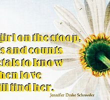 Loves Me, Loves Me Not by Jennifer Drake Schroeder