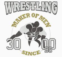 WRESTLING – MAKER OF MEN SINCE 3000BC Kids Clothes