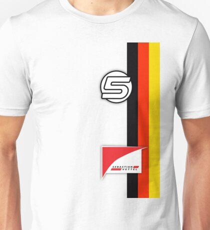 Vettel Helmet Unisex T-Shirt