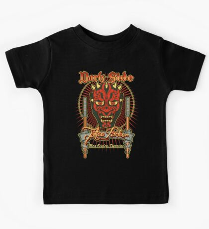 Dark Side Tattoo Parlour Kids Tee