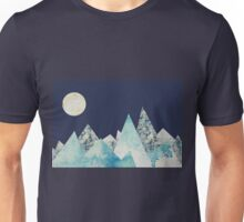 Mountain and Moon Collage Unisex T-Shirt