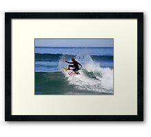 Slasher Framed Print