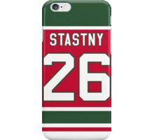 New Jersey Devils Peter Šťastný Jersey Back Phone Case iPhone Case/Skin