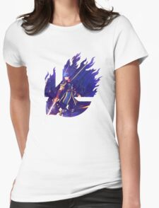 Smash Hype - Marth Womens Fitted T-Shirt
