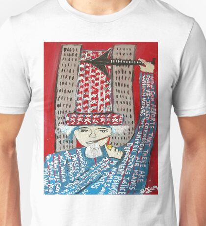 9-11 WAS FIXED RED Unisex T-Shirt