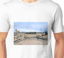 Jerusalem and the western wall Unisex T-Shirt