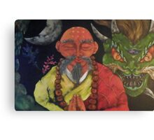 Dragon Style  Canvas Print
