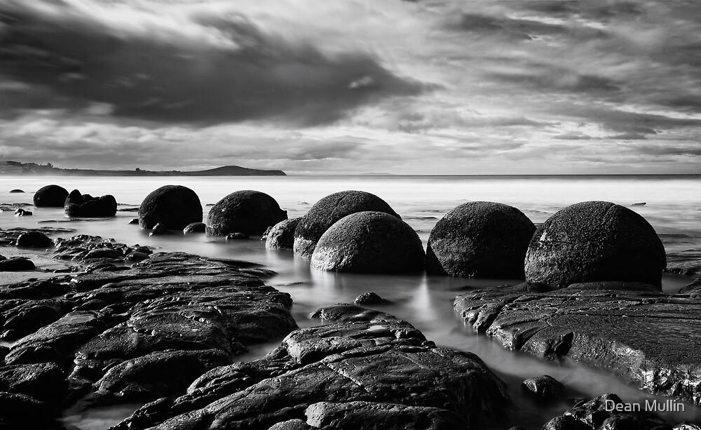 Moeraki Boulders - New Zealand by Dean Mullin