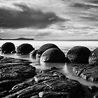 Moeraki Boulders - New Zealand by Dean Mullin