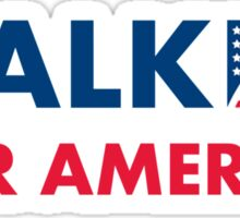 Scott Walker For America Sticker